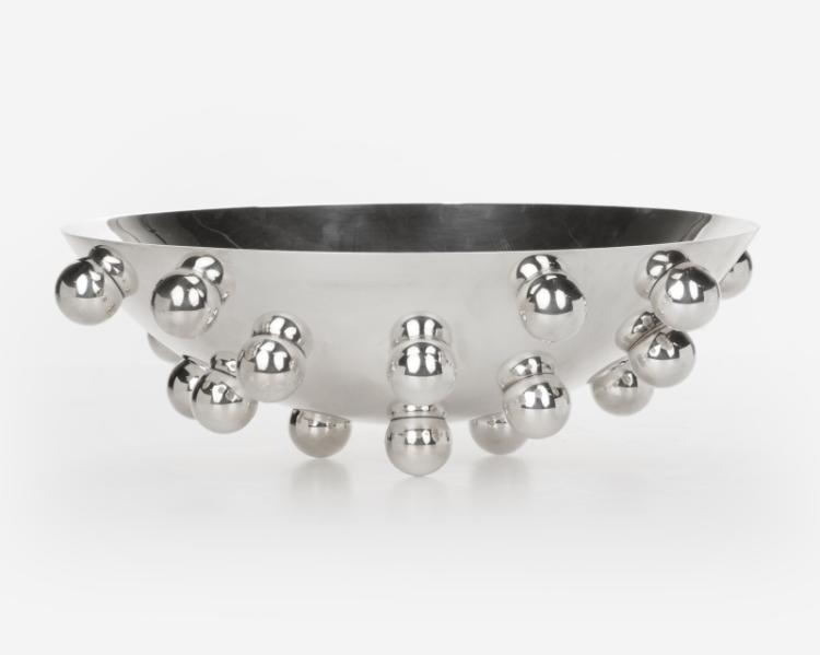 A Christofle ''Atomes d'Argent'' centerpiece bowl