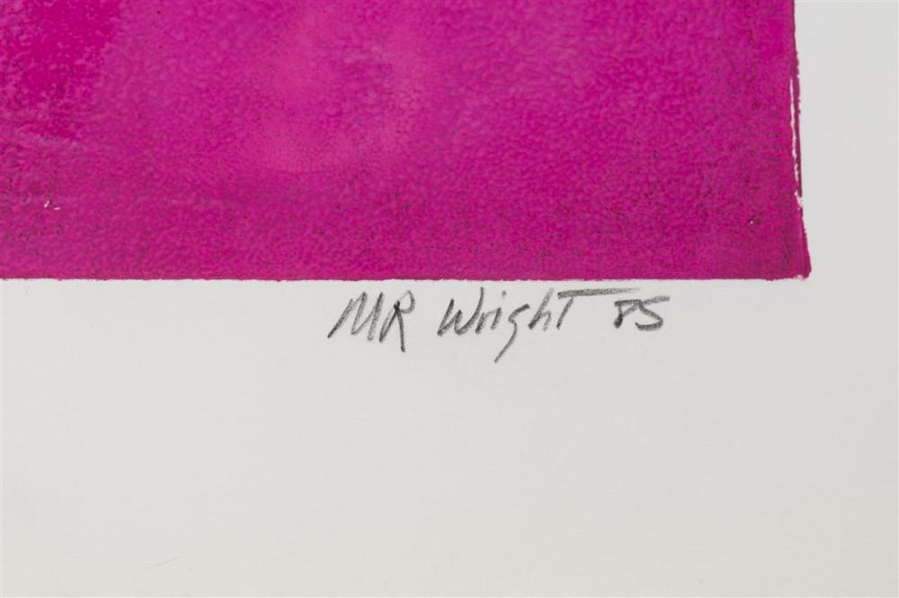 M.R. Wright, (Late 20th Century American),