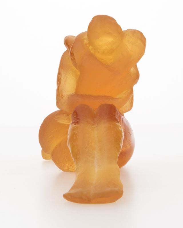 A Daum pate de verre art glass sculpture