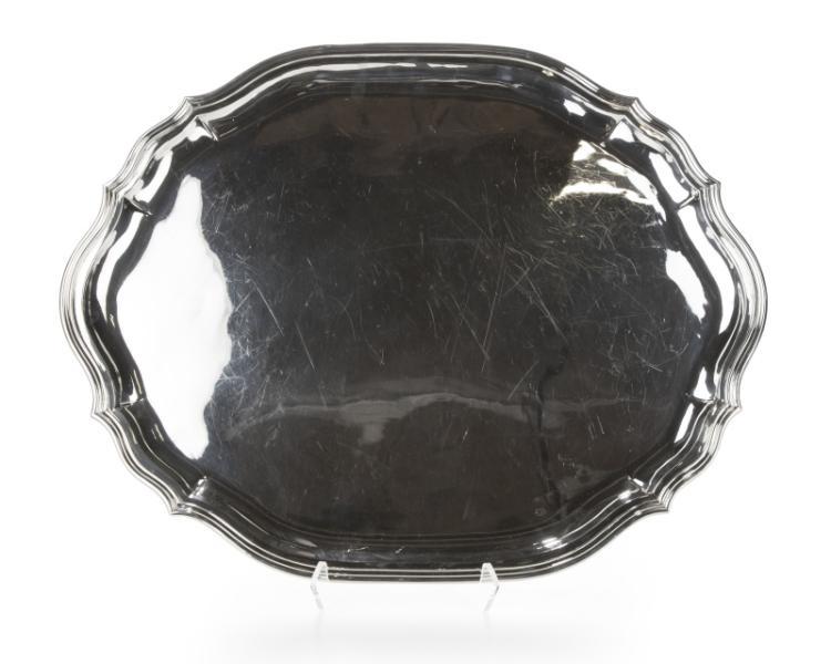 A Buccellati sterling silver tray