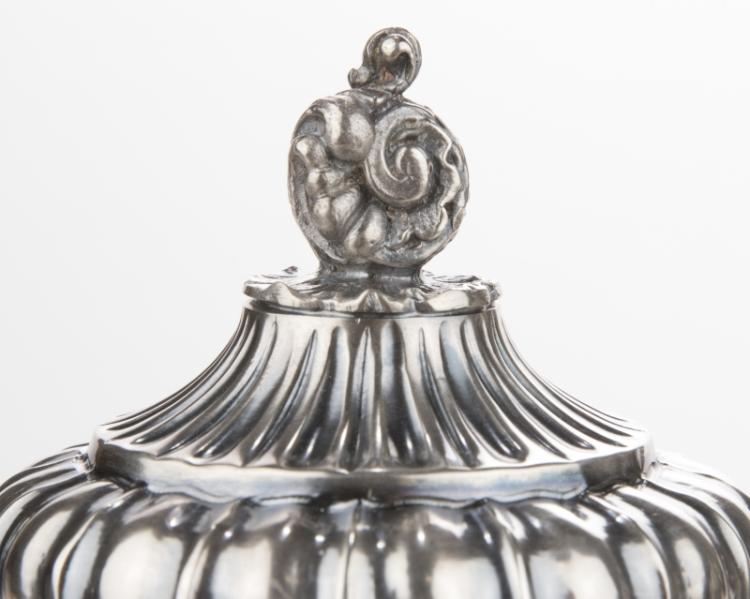 A Buccellati sterling silver coffee and teapot