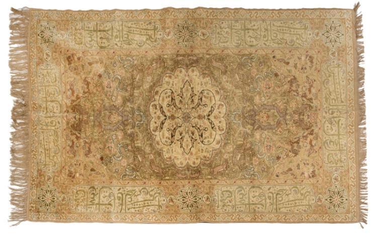 An Anatolian rug