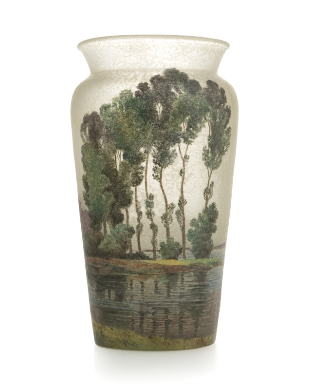 A Handel Teroma art glass vase