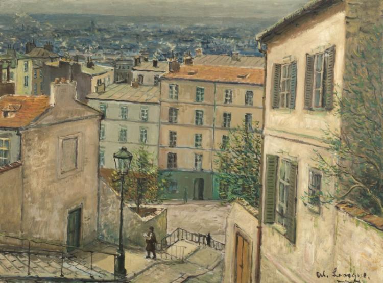 Alois Lecoque (1891-1981 Los Angeles, CA)