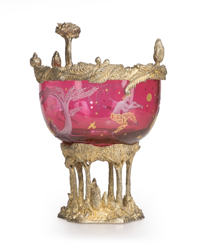 Jean Boggio & Baccarat ''Masquerade'' centerpiece