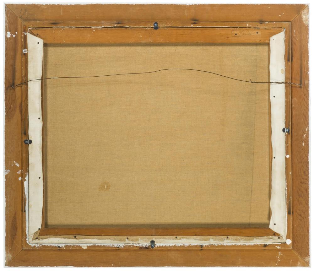 Paul Lauritz, (1889-1975 Glendale, CA), Golden rolling hills landscape, Oil on canvas, 25