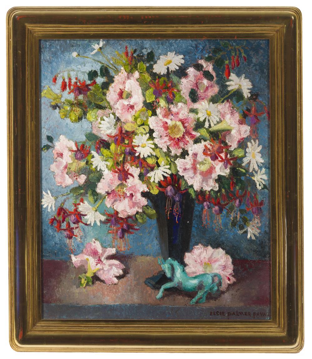 Elsie Palmer Payne, (1884-1971 Los Angeles, CA),