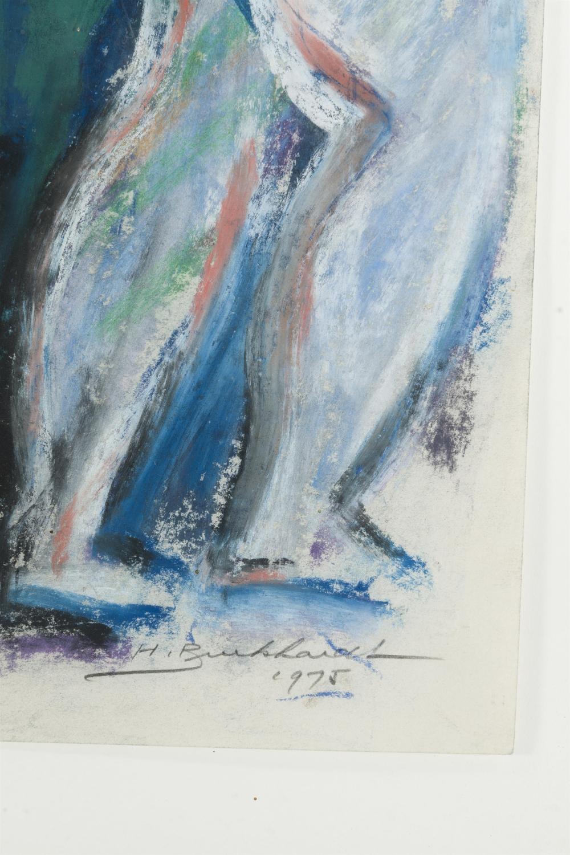 Hans Gustav Burkhardt, (1904-1994 Los Angeles, CA),