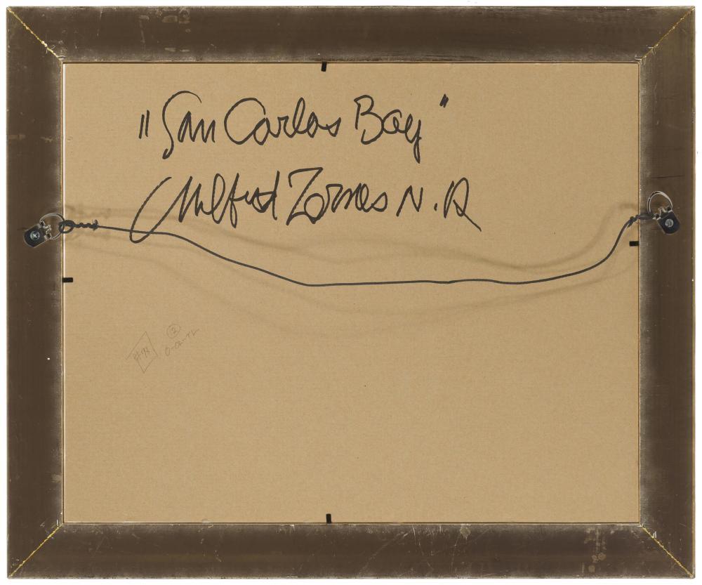 Milford Zornes NA, (1908-2008 Claremont, CA),