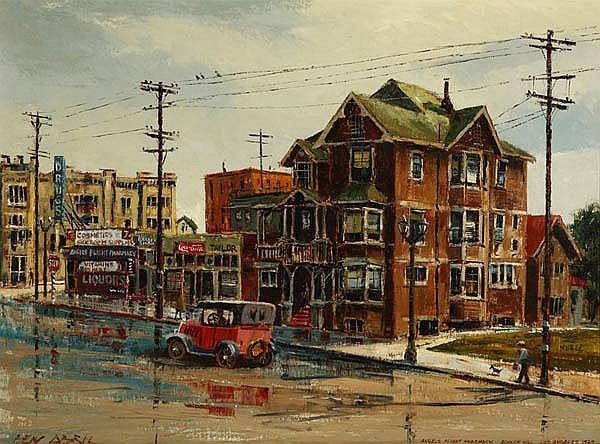 Ben Abril (1923-1995 Los Angeles, CA)