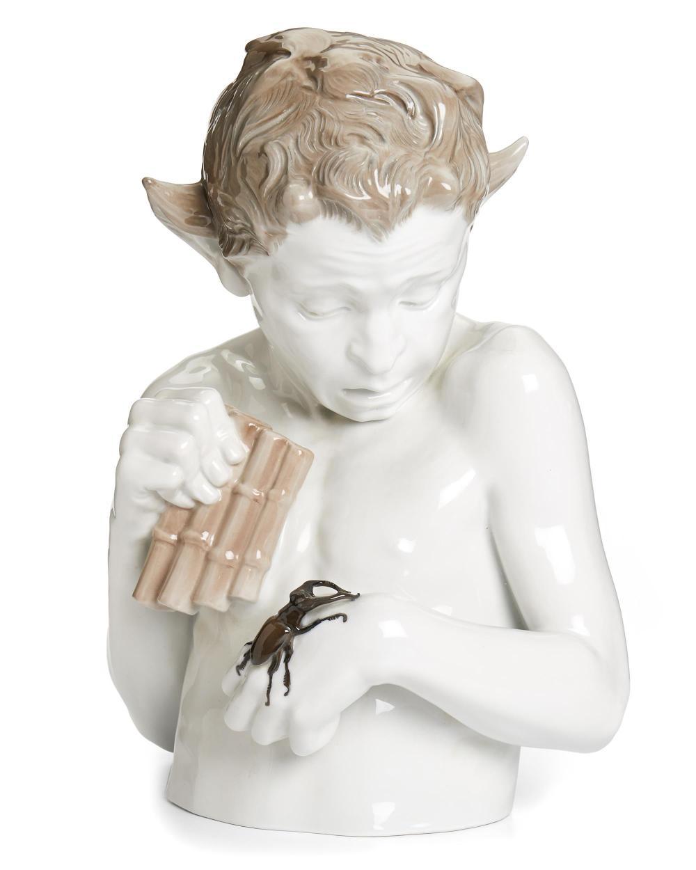 """A Ferdinand Liebermann porcelain sculpture, """"Schreck"""""""
