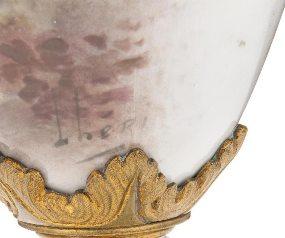 Image ref CD34CB6AC1 - A Sèvres urn with portrait scene