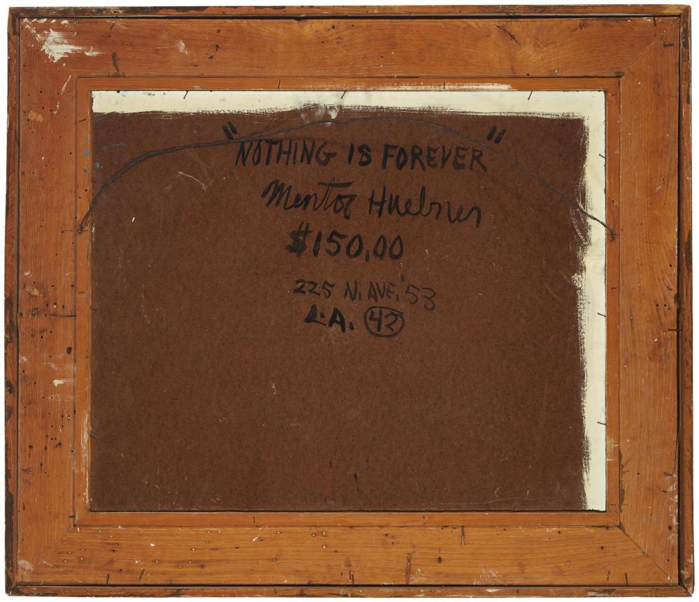 Mentor Huebner, (1917-2001, Los Angeles, CA),