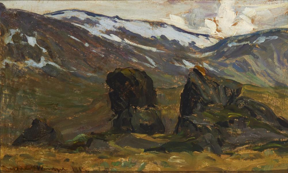 Mountain landscape, 1919