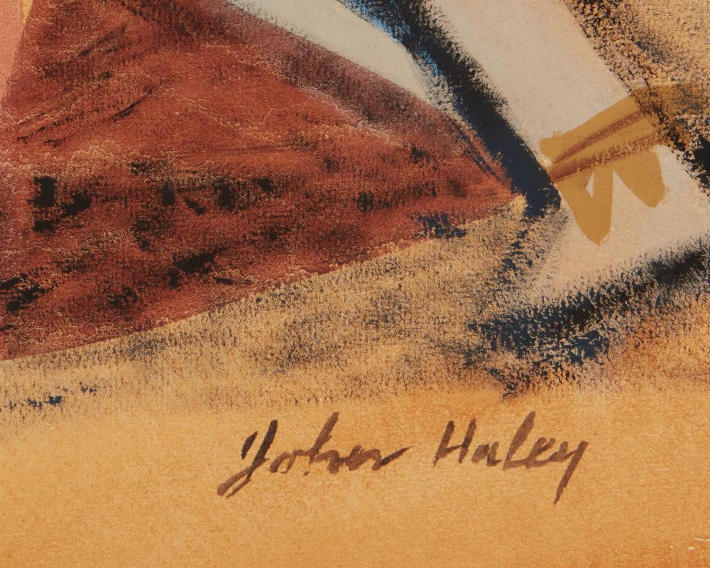 John Charles Haley, (1905-1991, Berkeley, CA),
