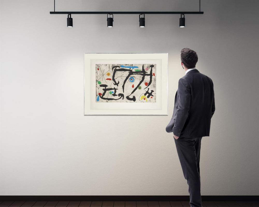 Joan Miro, (1893-1983, Spanish),