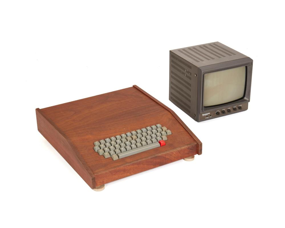 """The """"Chaffey College"""" Apple-1 personal computer"""