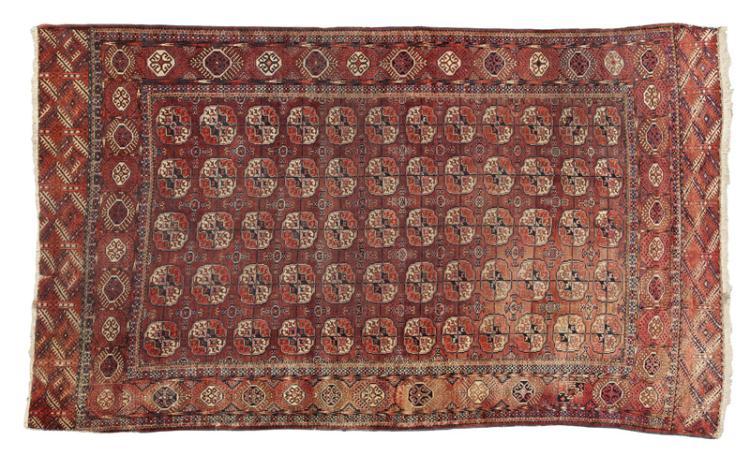 A Tekke Turkoman room-sized carpet