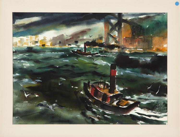 Jack Laycox (1921-1984 San Francisco, CA)
