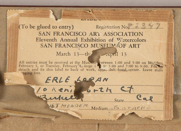 Erle Loran (1905-1999 Berkeley, CA)