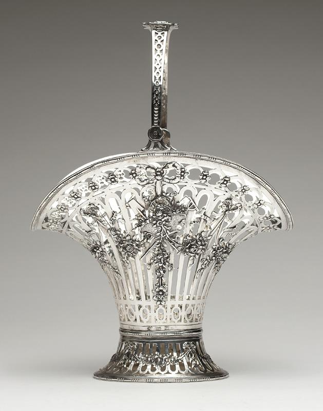 A German silver pierced basket, Georg Roth & Co.