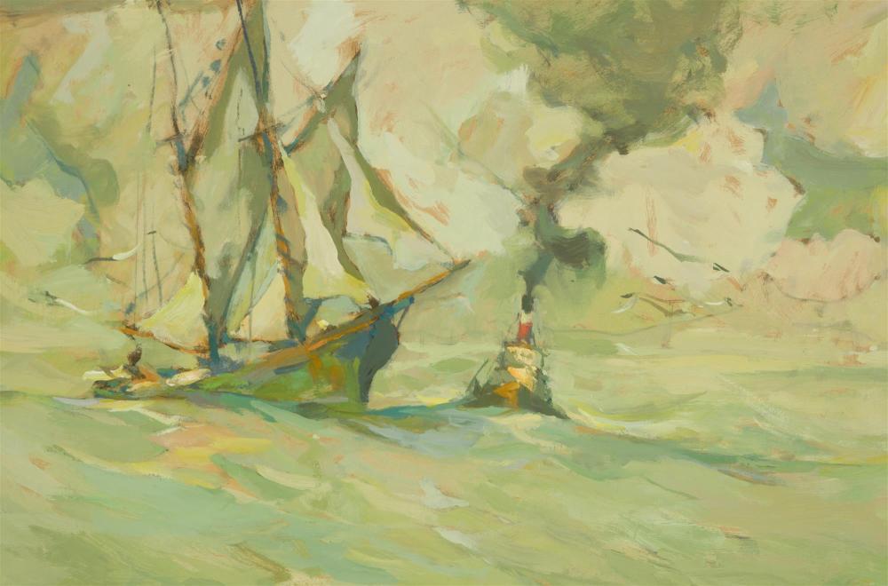 Armin Carl Hansen NA, (1886-1957 Monterey, CA),