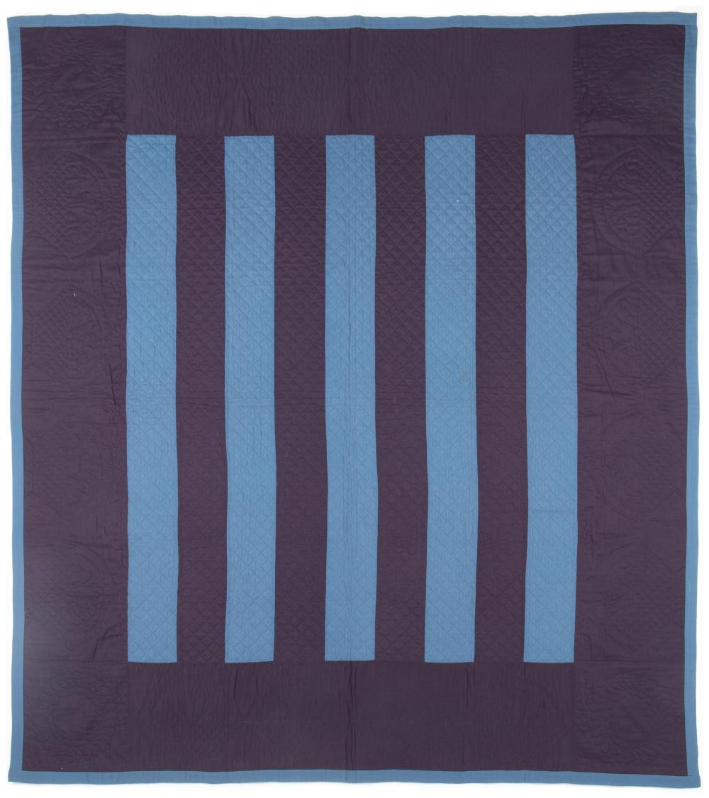 An Amish Floating Bars quilt