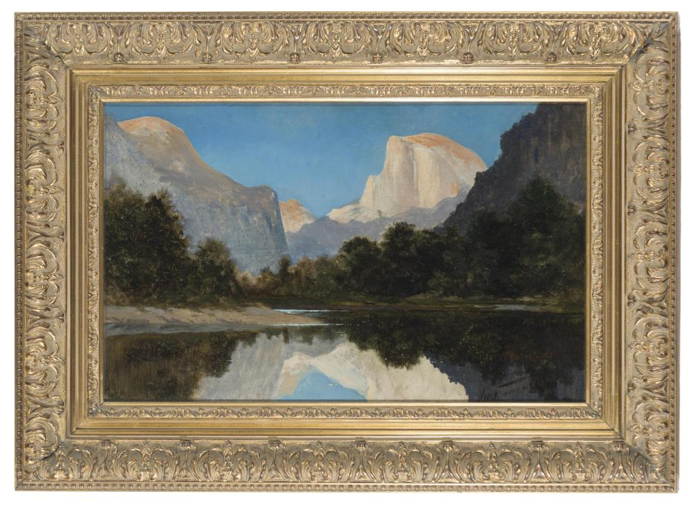 Jules Tavernier, (1844-1889 San Francisco, CA),