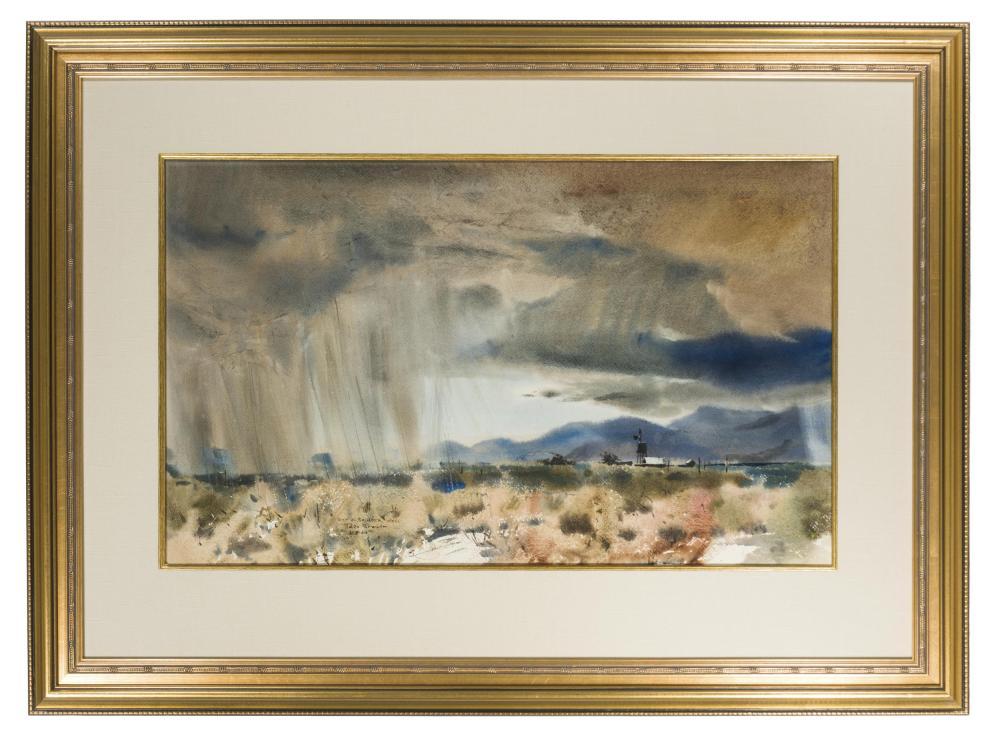 Rex Brandt, (1914-2000 Corona Del Mar, CA),