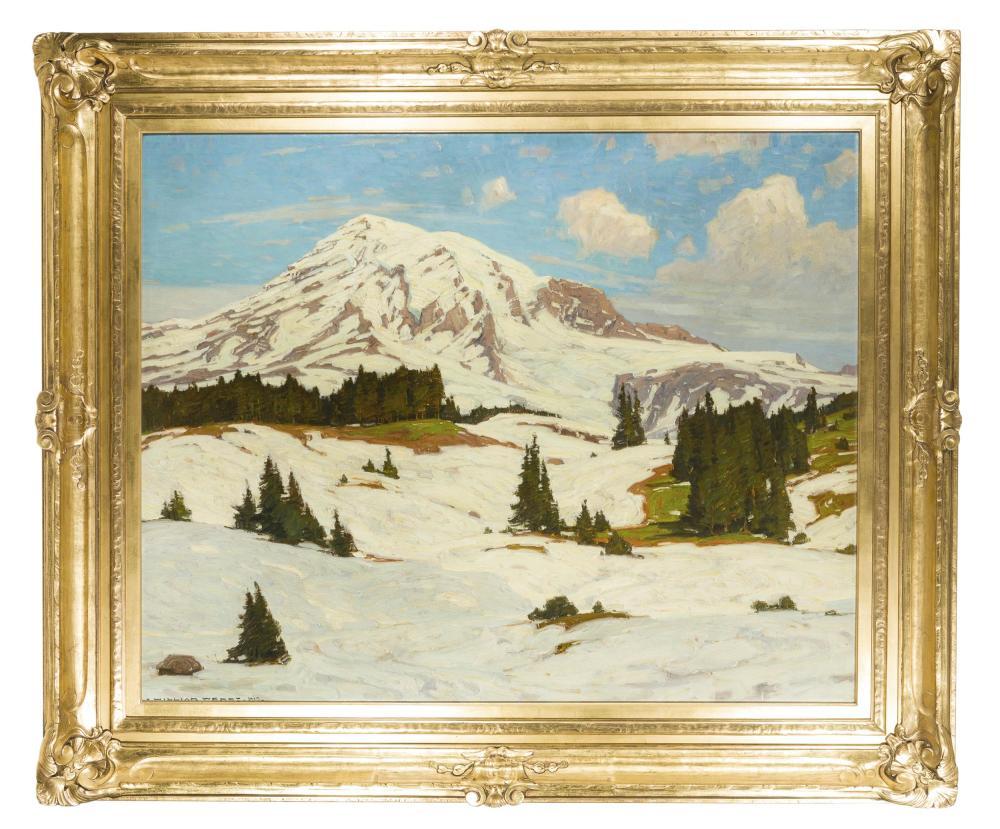 William Wendt ANA, (1865-1946 Laguna Beach, CA),
