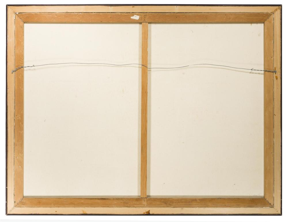 Ovanes Berberian, (b. 1951 American), Sunrise over a hillside landscape, Oil on canvas, 36