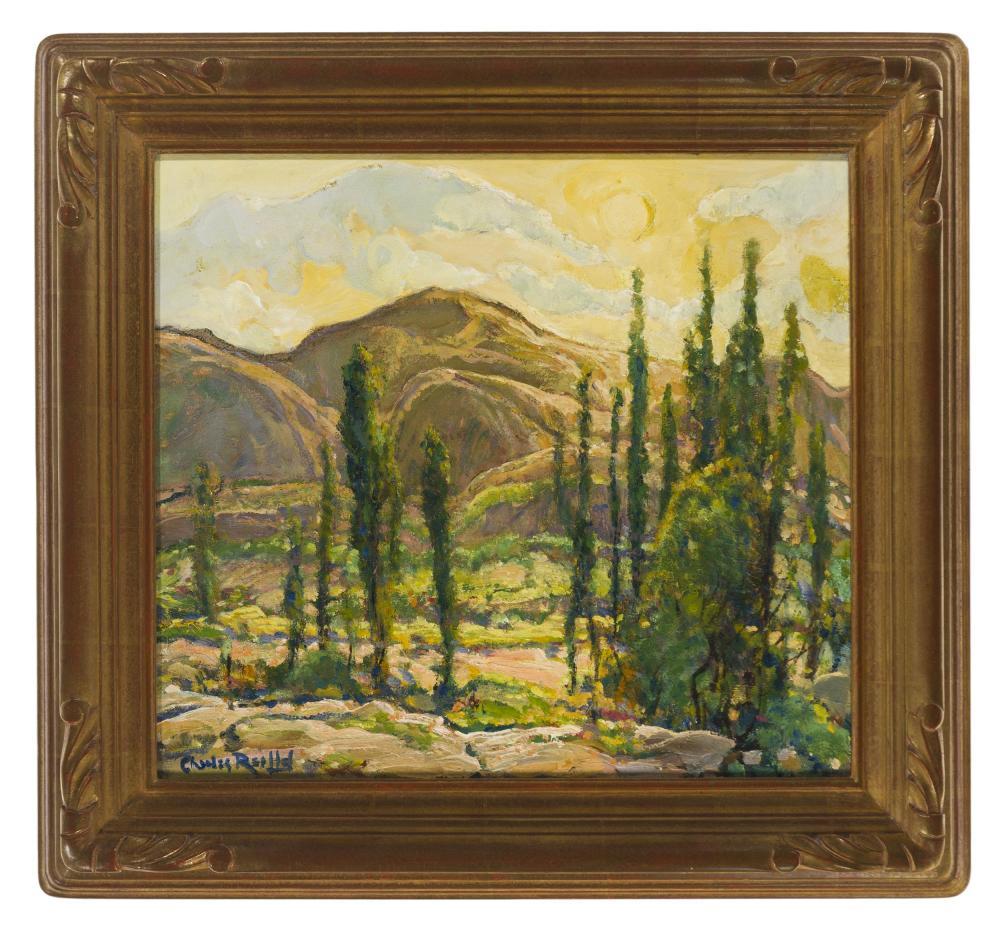 Charles Reiffel, (1862-1942 San Diego, CA),