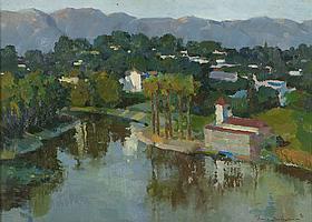 Ovanes Berberian (1951-* Los Angeles, CA)