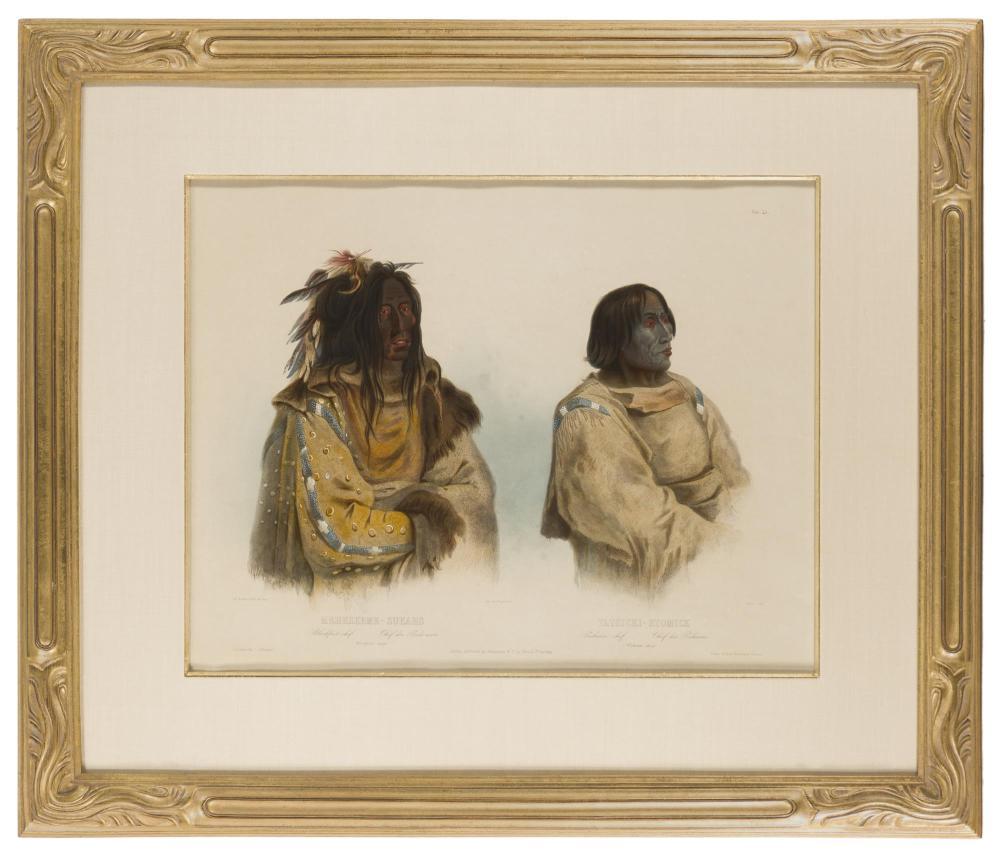 Karl Bodmer, (1809-1893 French),