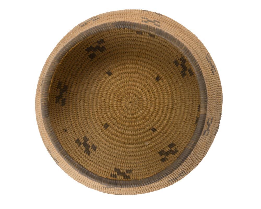 A Chemehuevi woven basket