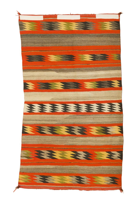 A transitional Navajo blanket