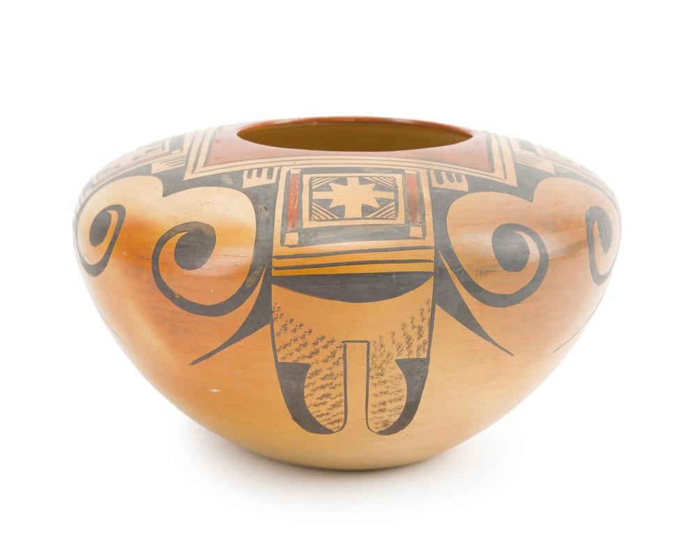 A Hopi polychrome jar, Fannie Nampeyo