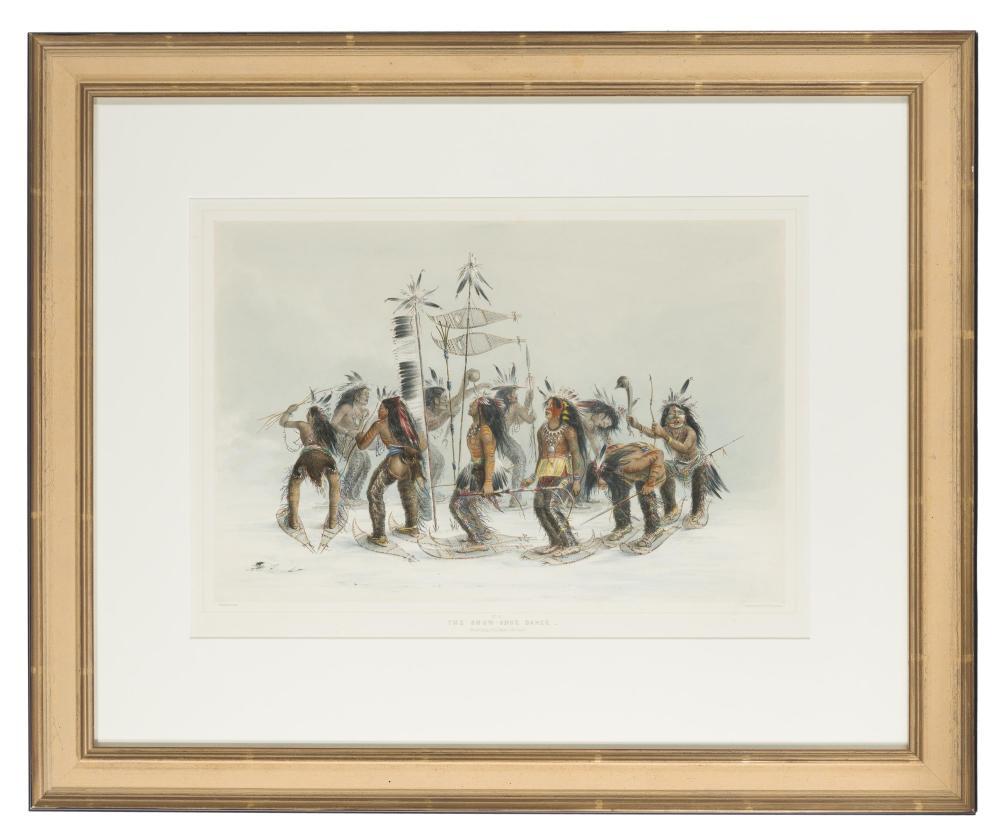 George Catlin, (1796-1872 Jersey City, NJ),