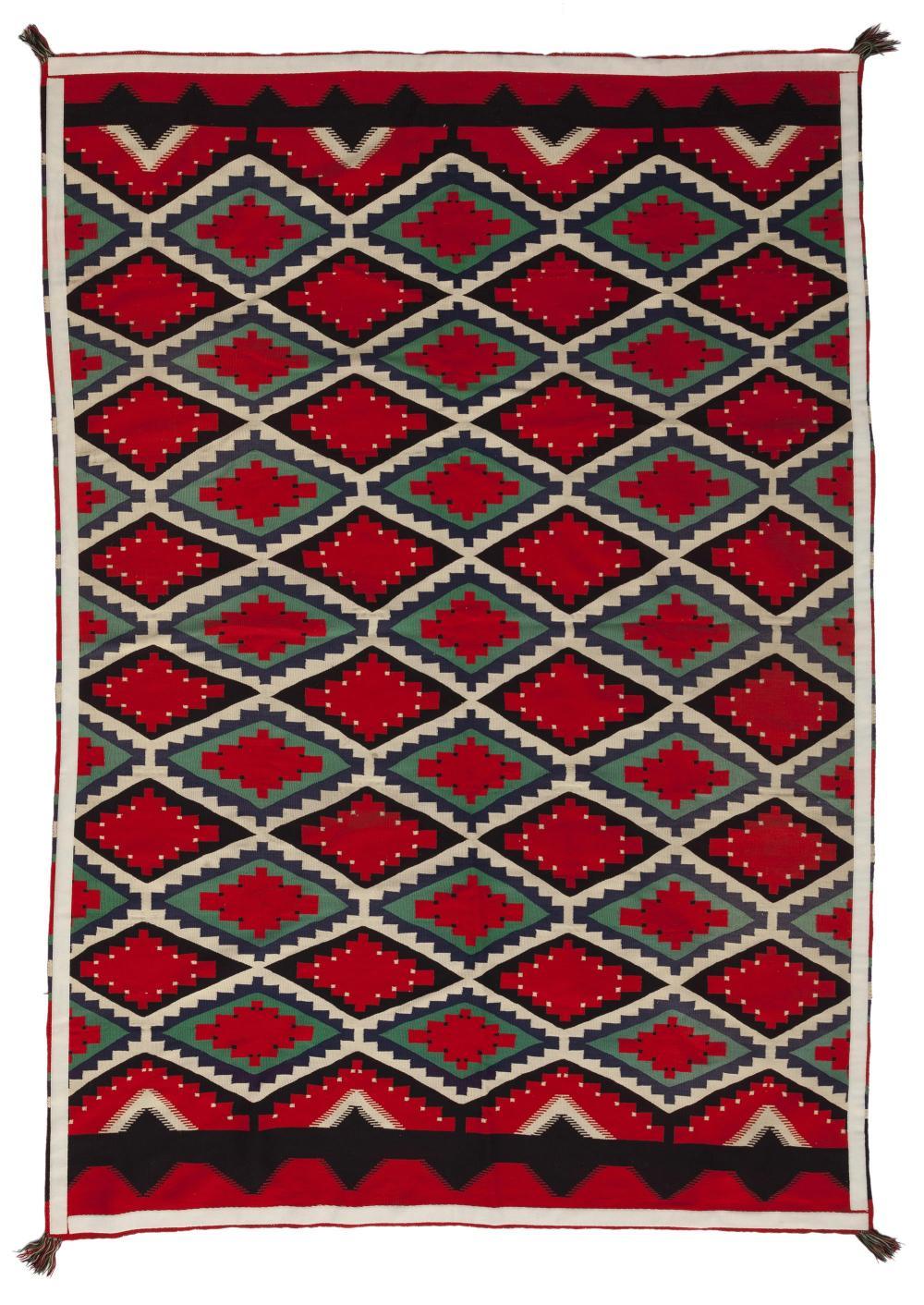 A large Navajo Germantown weaving