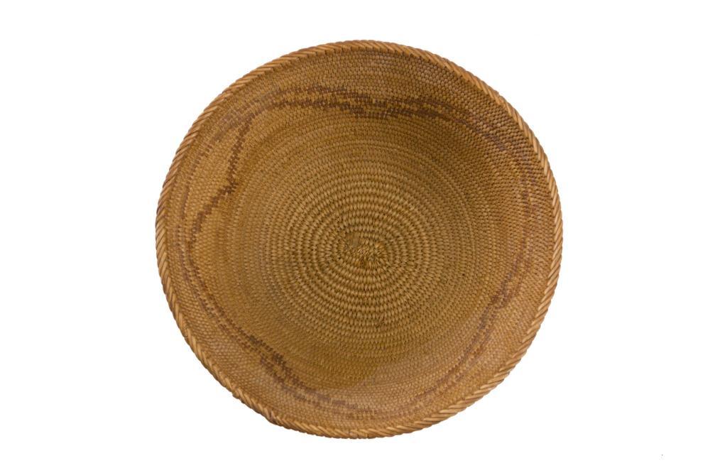 A California Mission basket