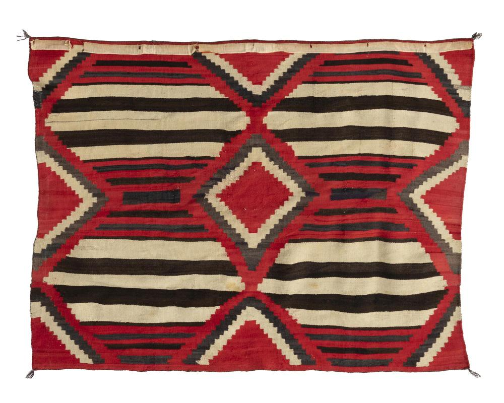 A Navajo Third Phase chief's-style blanket/rug