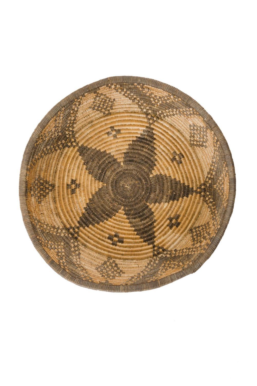 An Apache woven basket