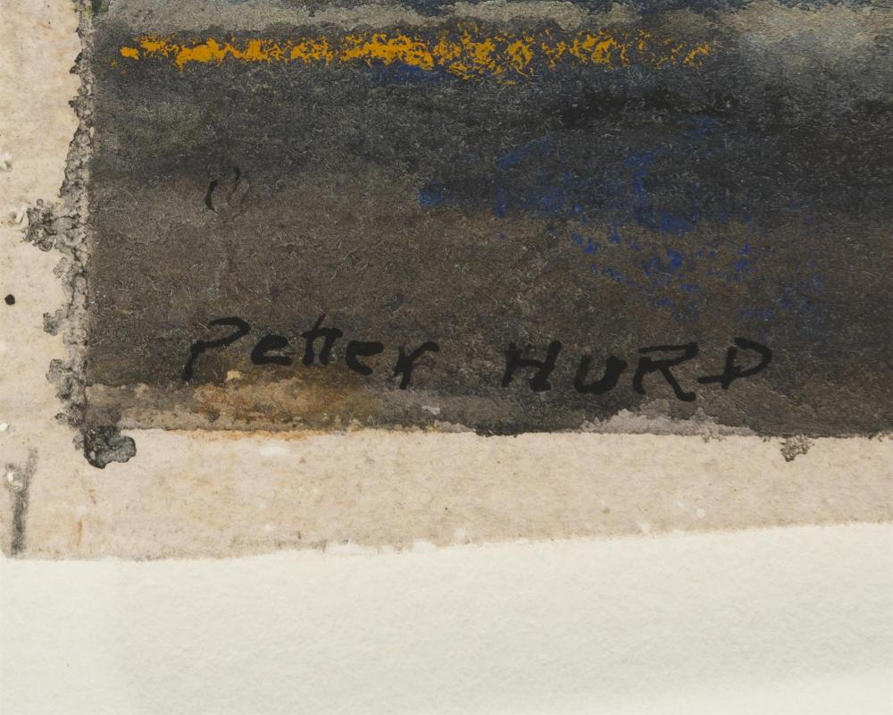 Peter Hurd, (1904-1984 Roswell, NM),