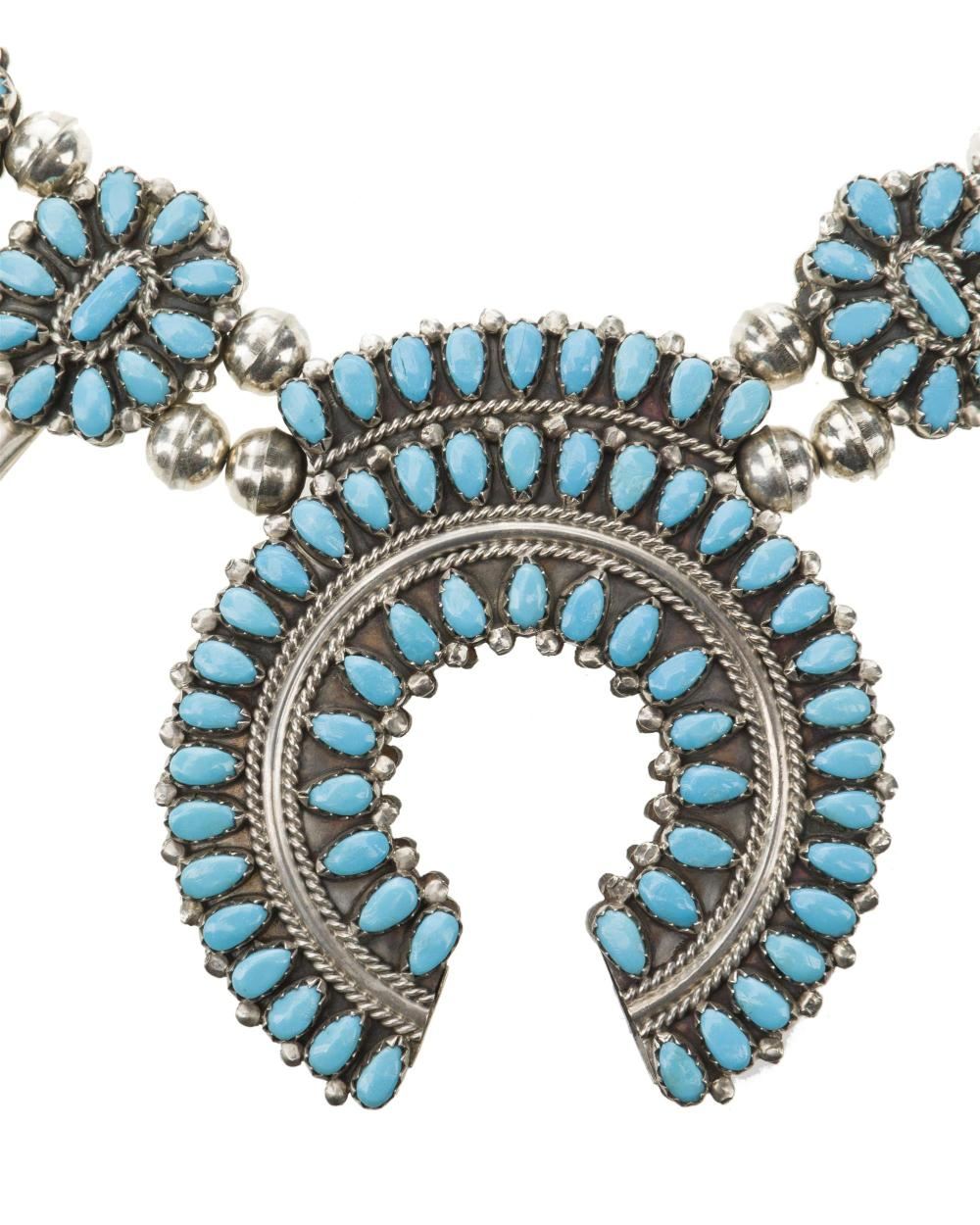 A group of American Indian silver jewelry