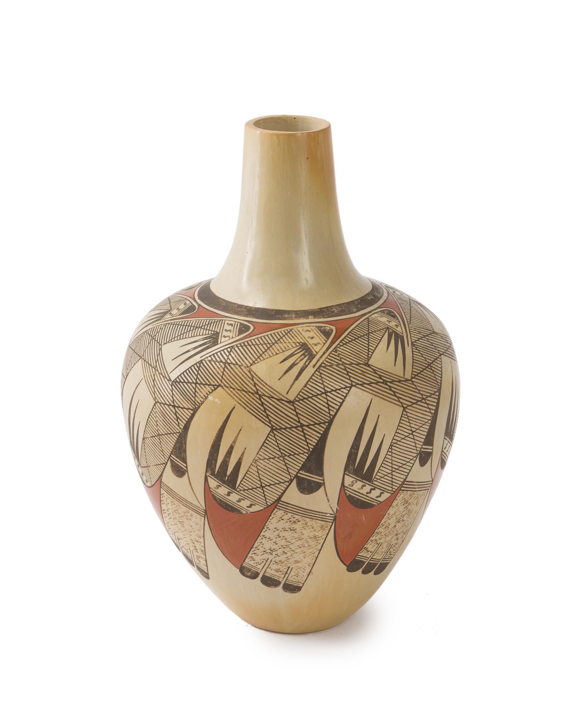 A polychrome shouldered vase, Elton Nampeyo