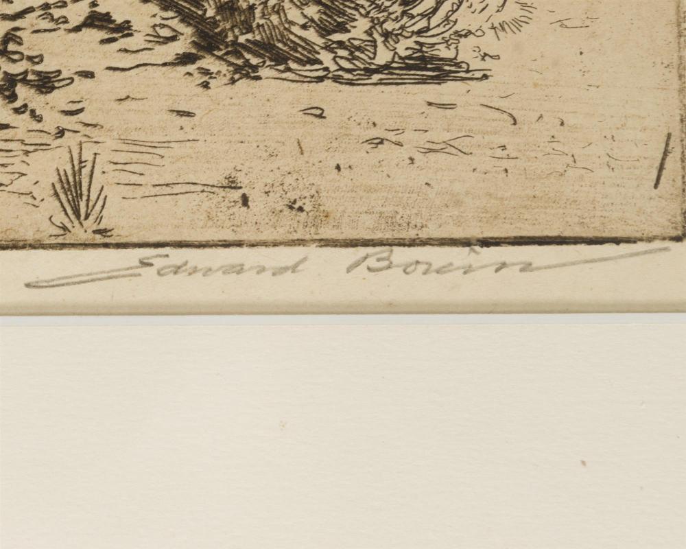 Edward Borein, (1872-1945 Santa Barbara, CA),