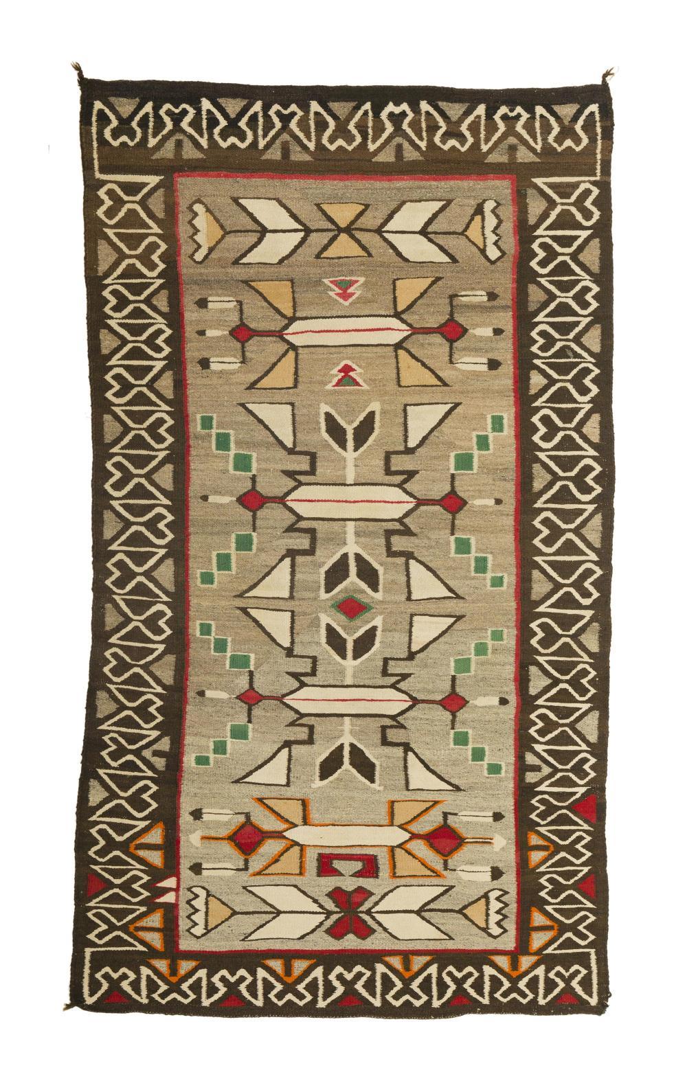 A Navajo pictorial rug