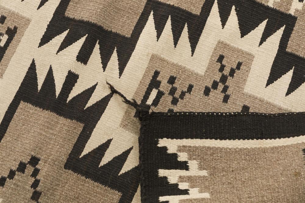 Three Navajo regional rugs