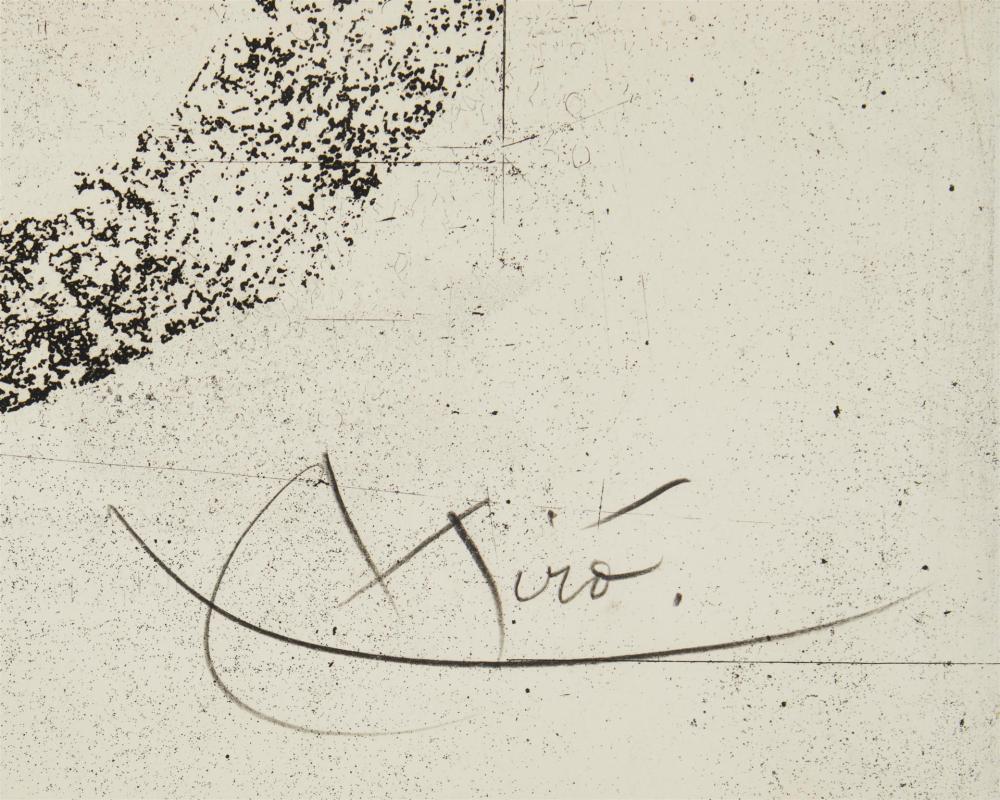 Joan Miró, (1893-1983, Spanish),