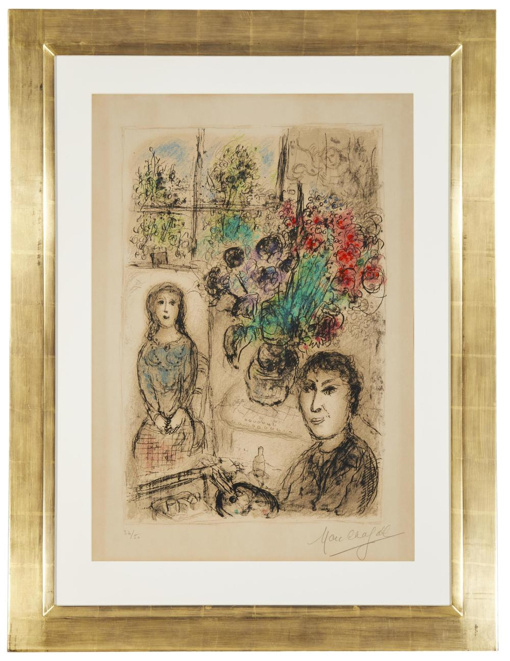 Marc Chagall, (1887-1985, French),